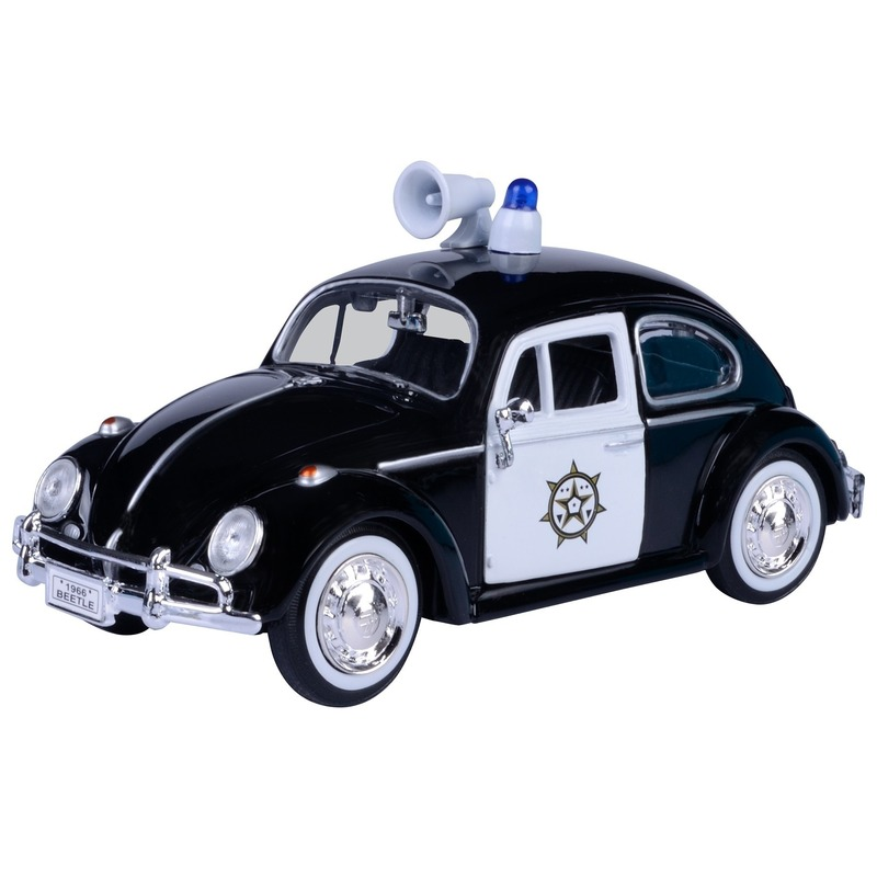 Modelauto Volkswagen Kever politie 1:24