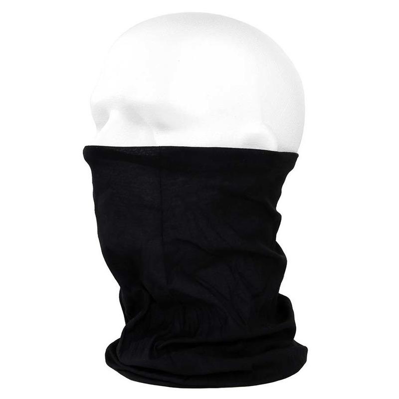 Morf sjaal zwart voor motorrijders