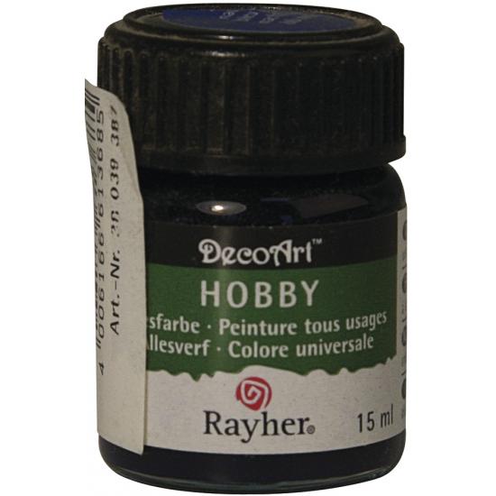 Navy acrylverf/allesverf potje 15 ml hobby/knutselmateriaal
