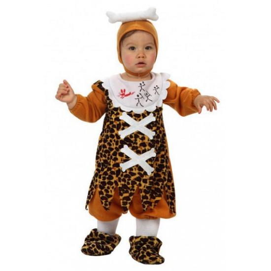 Oermens kostuum voor babies