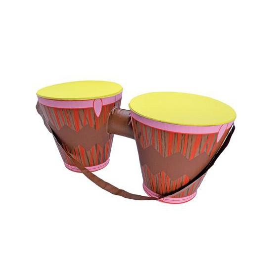 Opblaasbare tropische bongos