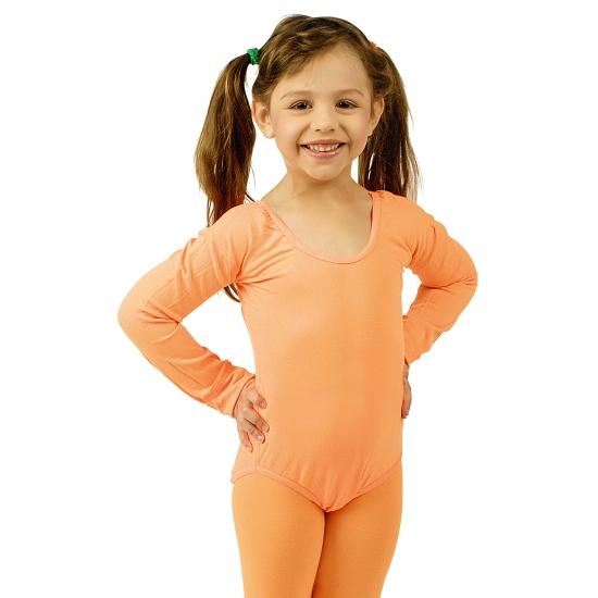Oranje kinder ballet outfit