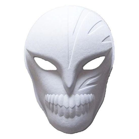 Papier mache masker Halloween spook