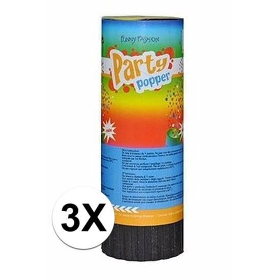 Party poppers 11 cm