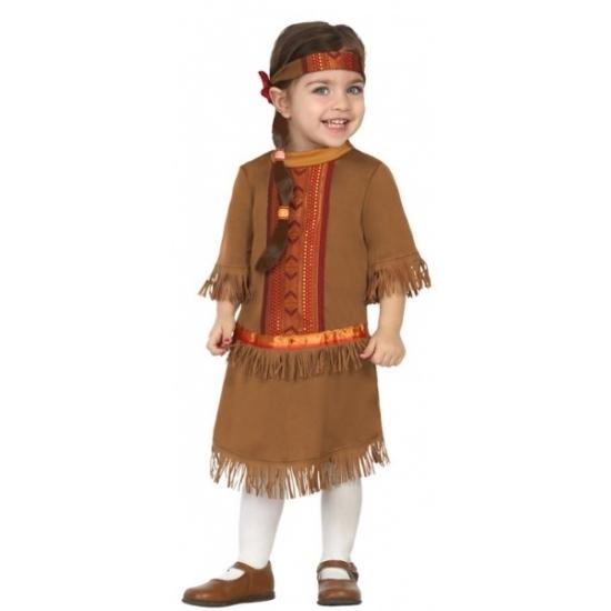 Peuter verkleedjurkje indiaan