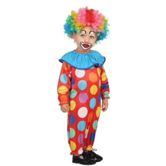 Peuter verkleedkleding clown