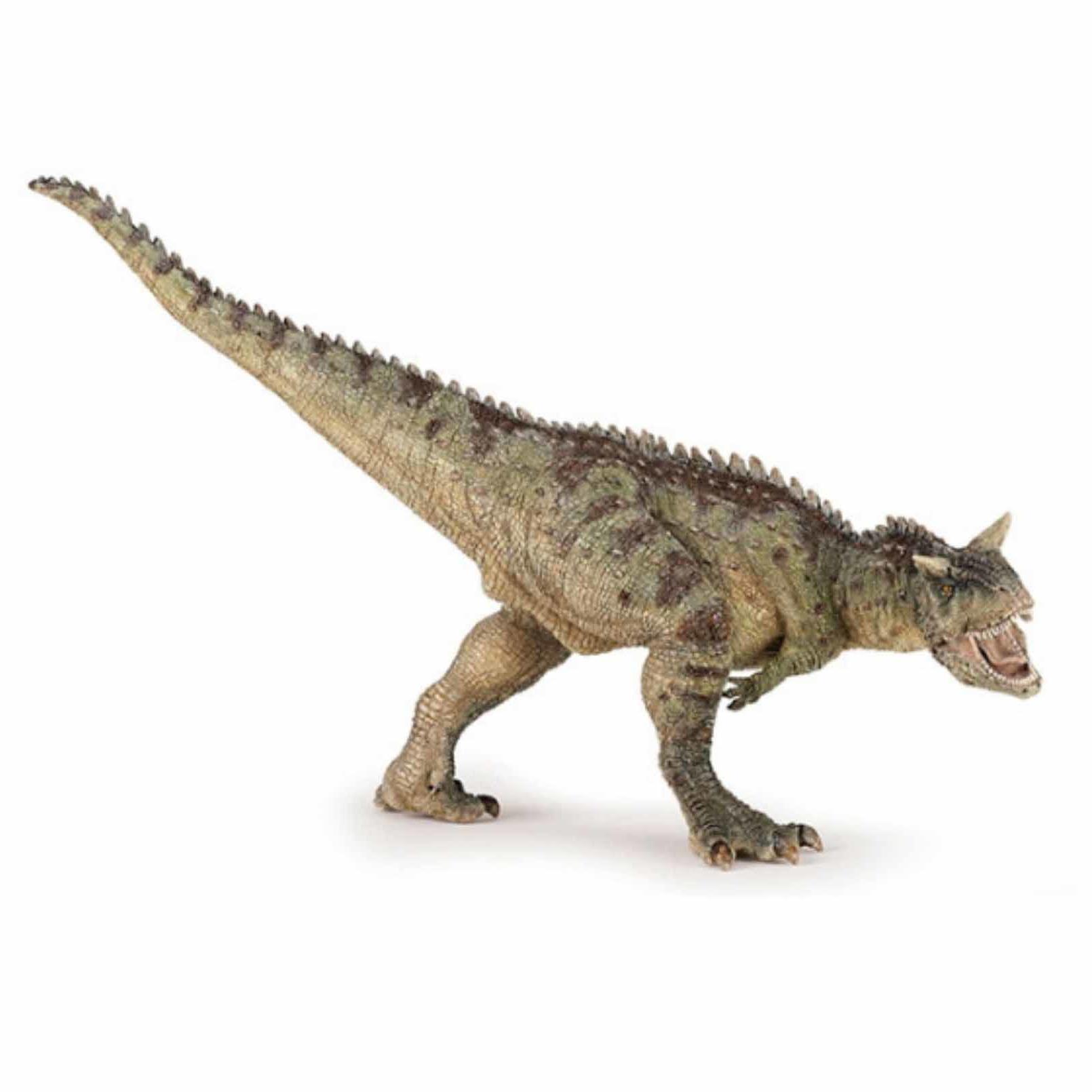 Plastic carnotaurus dinosaurus 19 cm