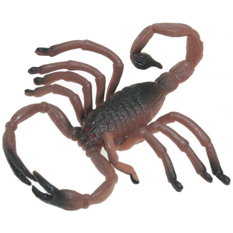Plastic dieren schorpioenen 8 cm
