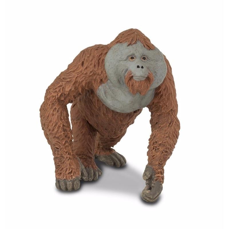 Plastic orang oetan 11 cm