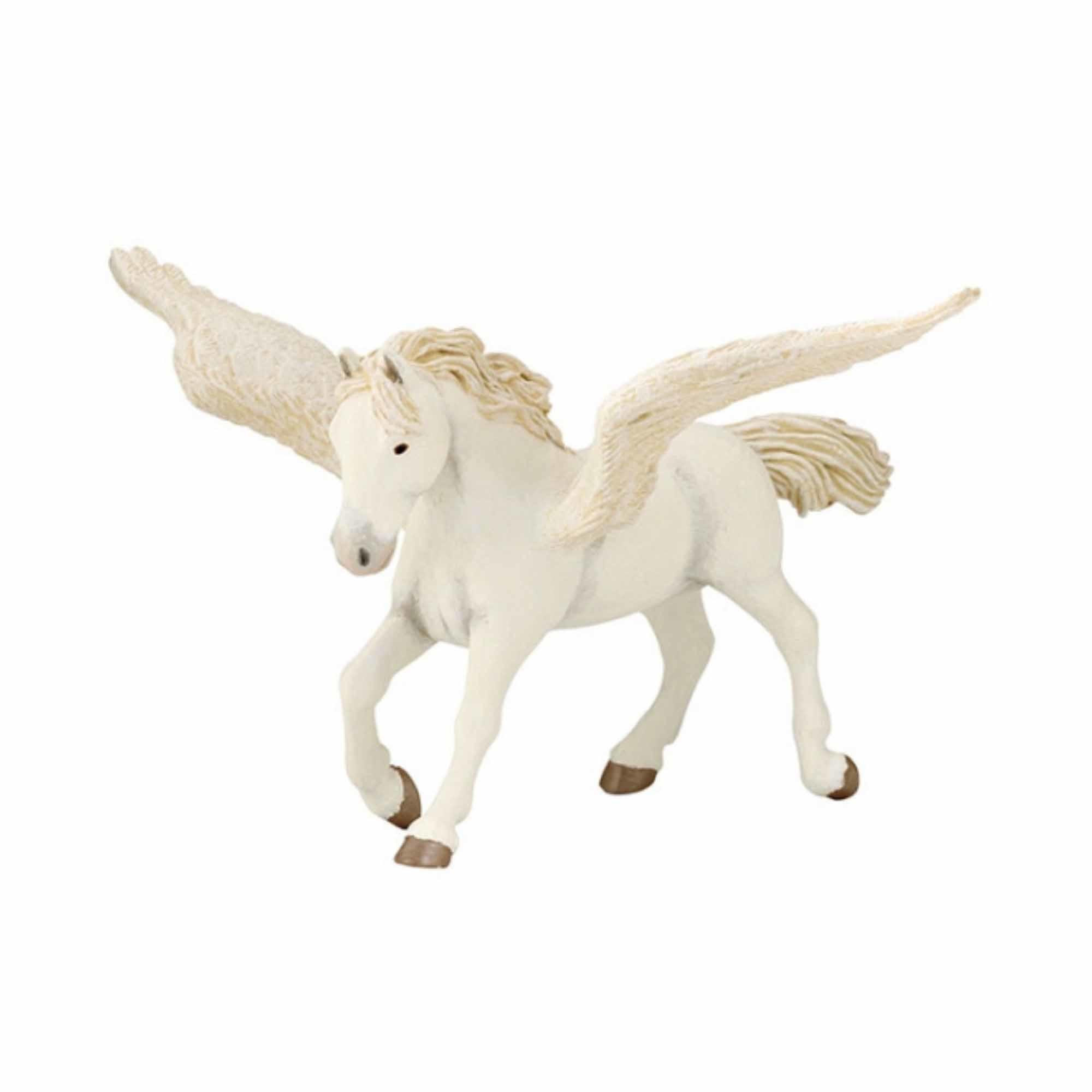 Plastic pegasus paard met vleugels16,5 cm