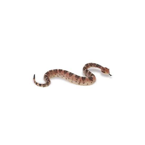 Plastic ratelslang speegoed dier 23 cm