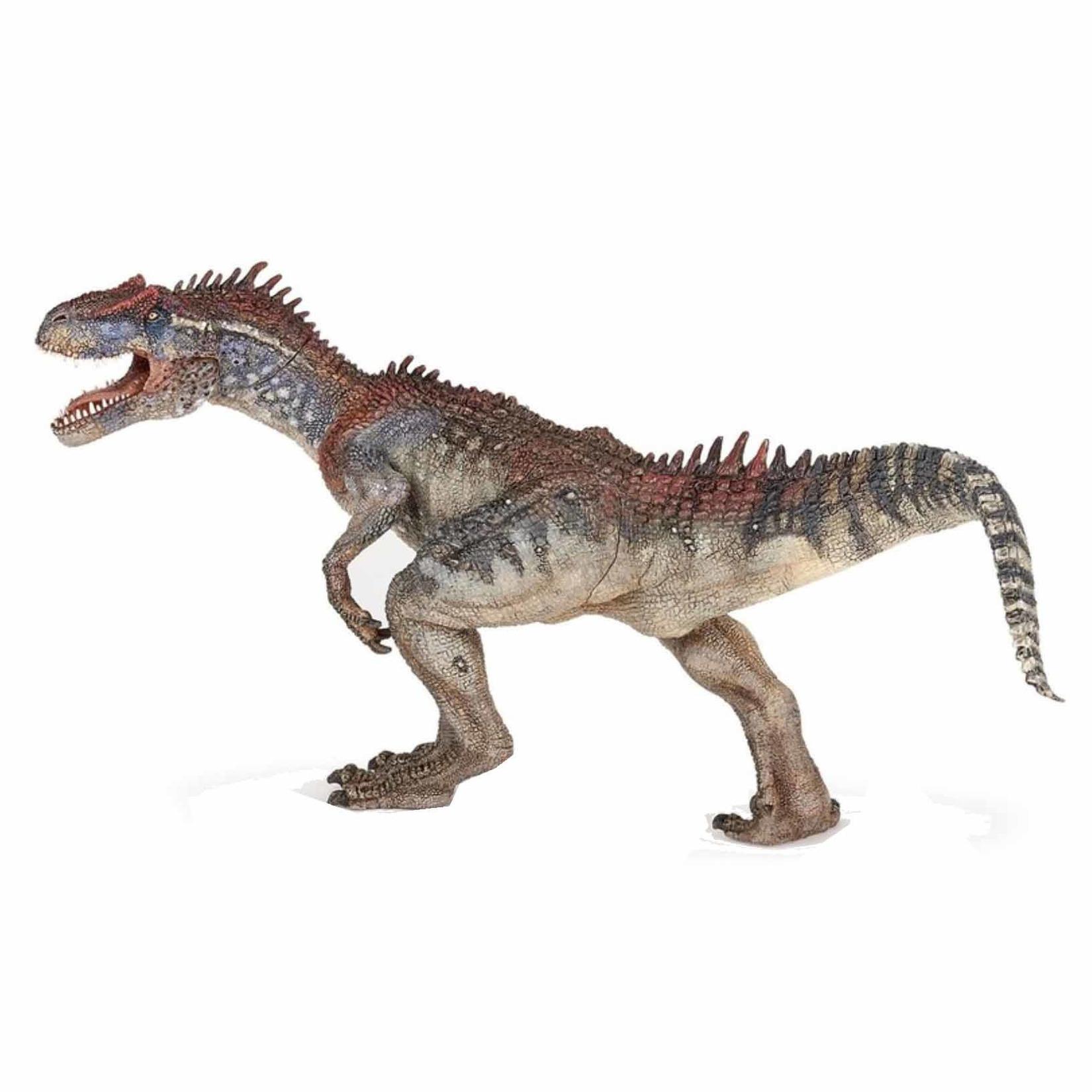 Plastic speelgoed figuur allosaurus dinosaurus 24,5 cm