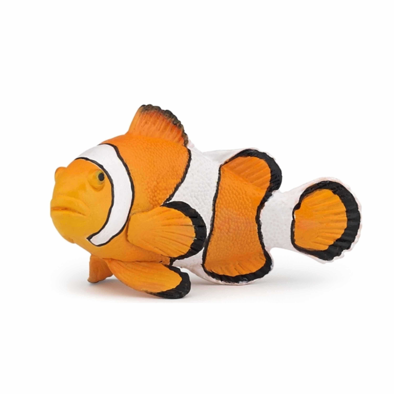 Plastic speelgoed figuur clownvis 6 cm