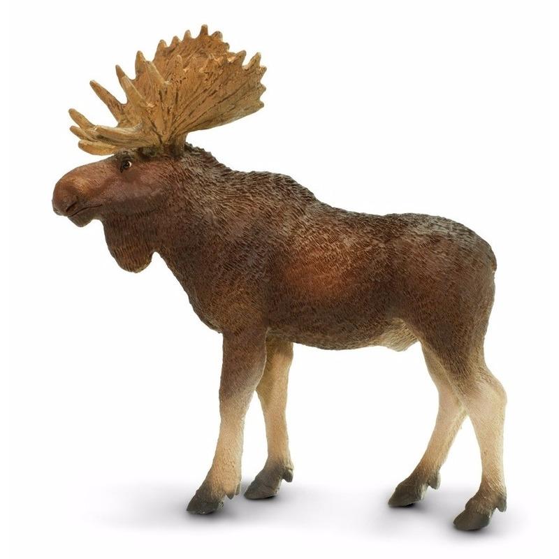 Plastic speelgoed figuur eland stier 10 cm