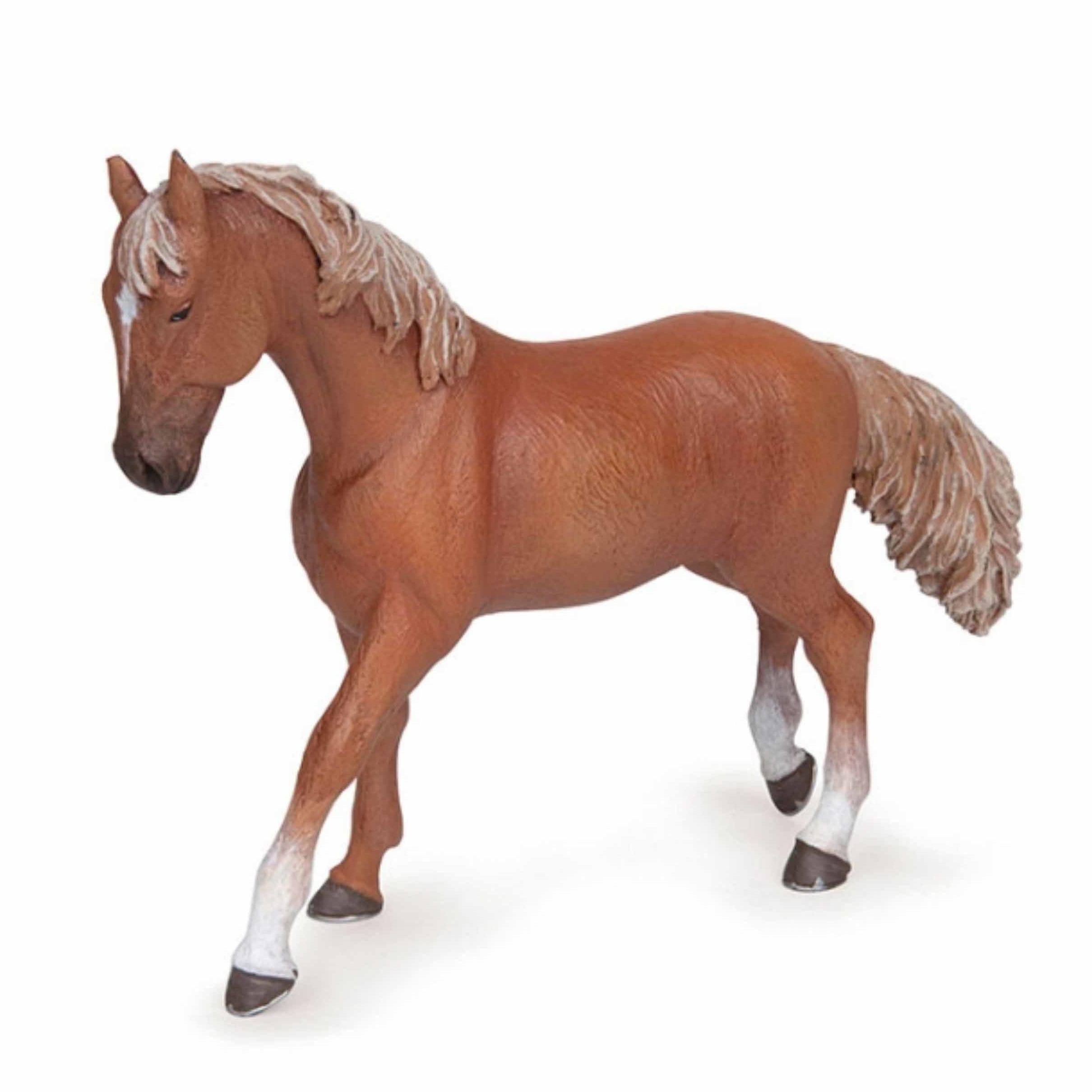 Plastic speelgoed figuur Engelse volbloed 14,5 cm