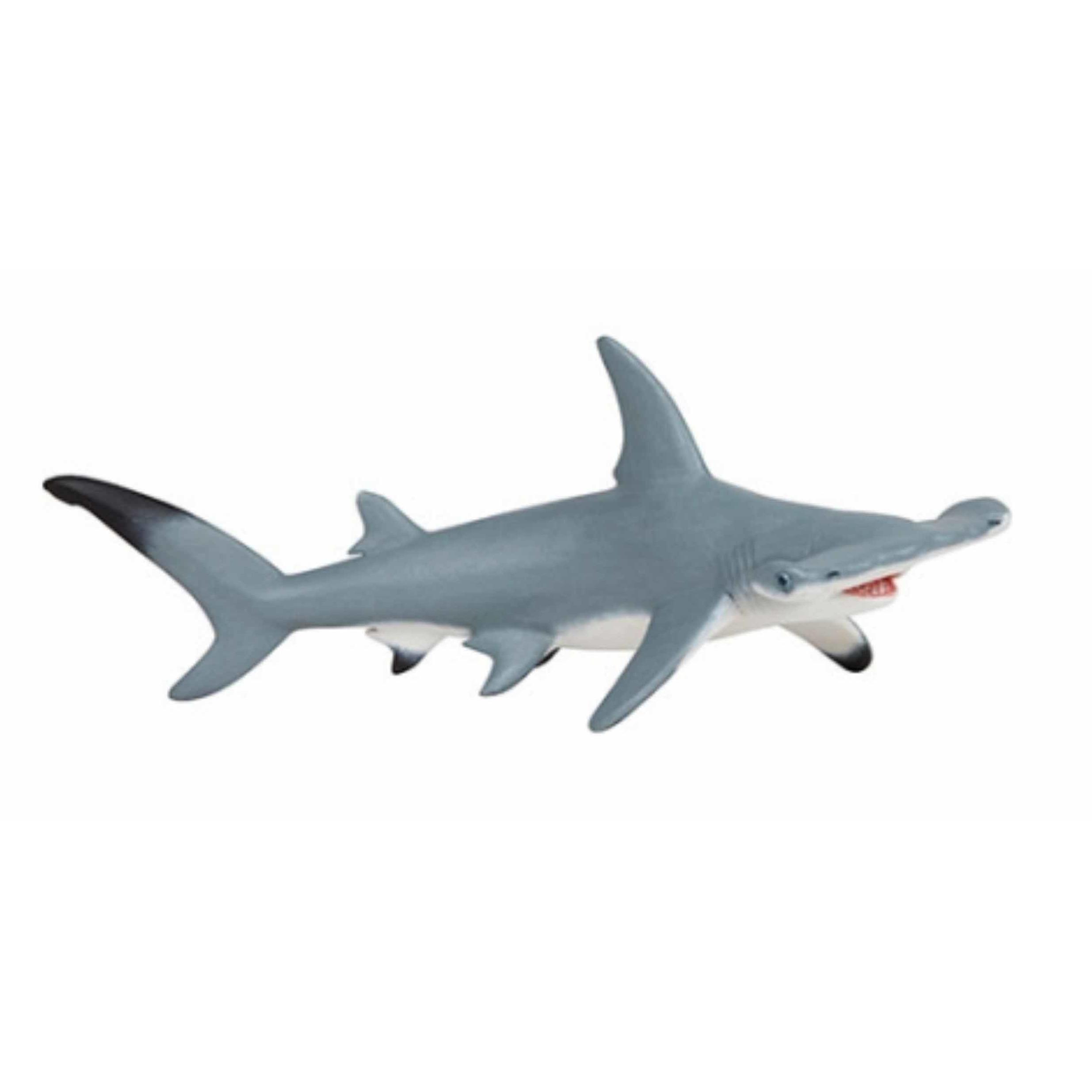 Plastic speelgoed figuur hamer haai 17 cm