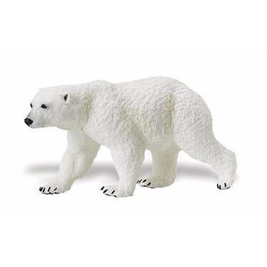 Plastic speelgoed figuur ijsbeer 12 cm