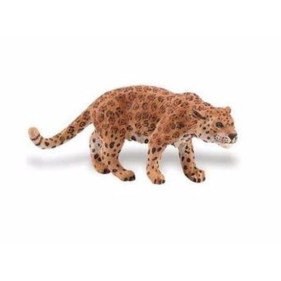Plastic speelgoed figuur jaguar 10 cm