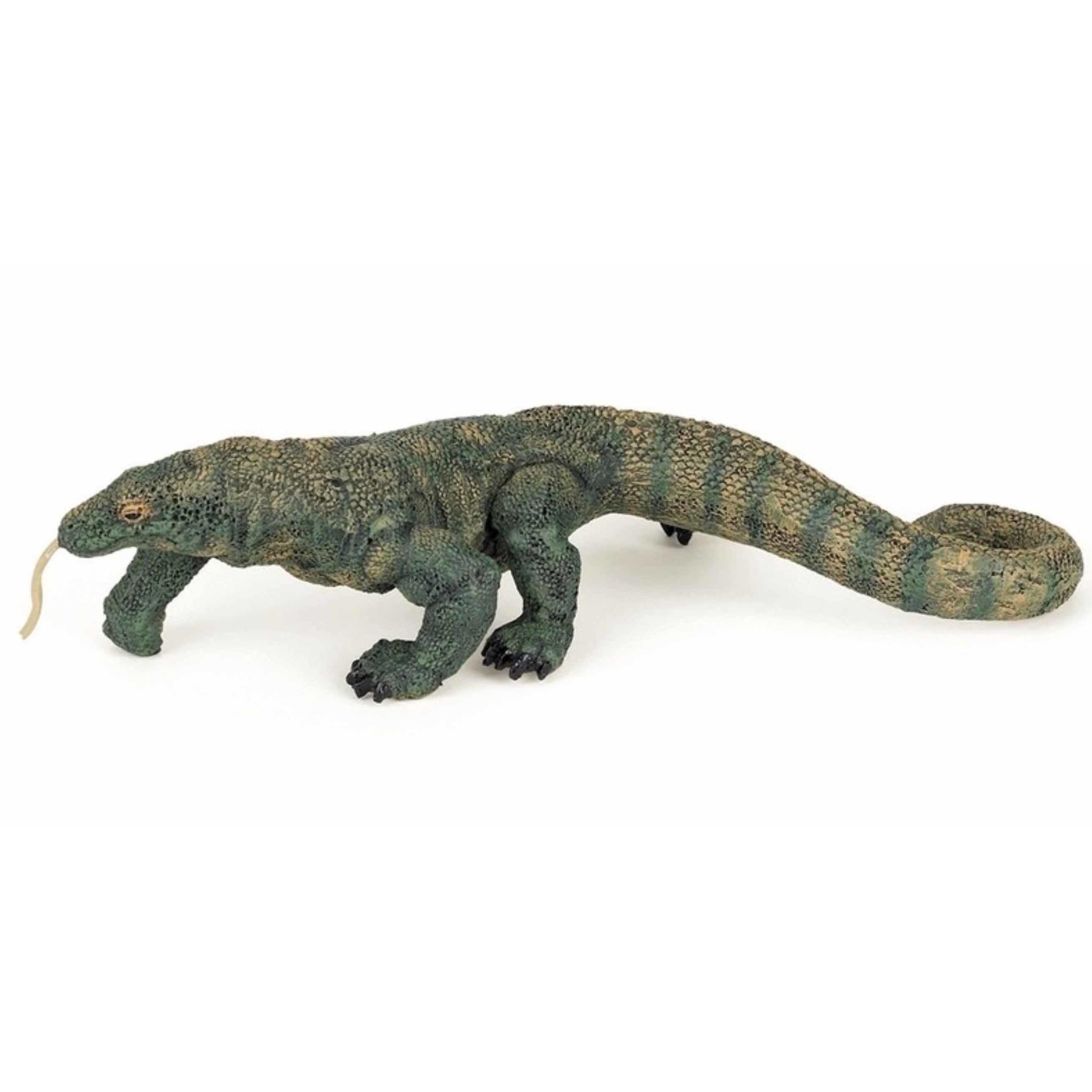 Plastic speelgoed figuur komodo varaan 16.5 cm