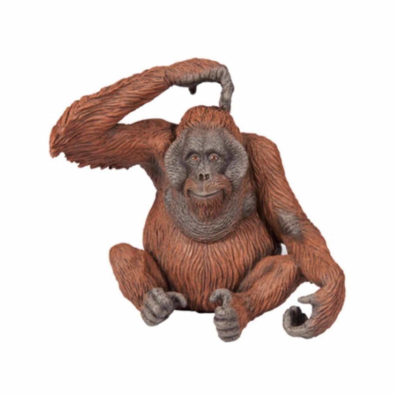 Plastic speelgoed figuur orang-oetan 9 cm