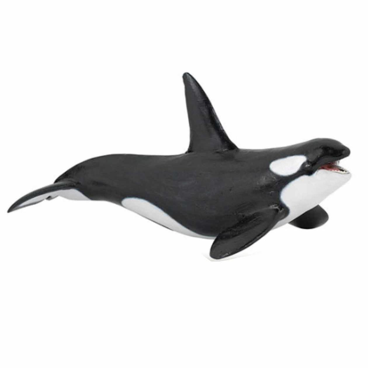 Plastic speelgoed figuur orka 18 cm