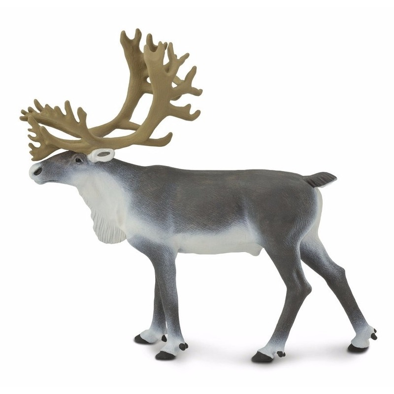 Plastic speelgoed figuur rendier karibou 11 cm