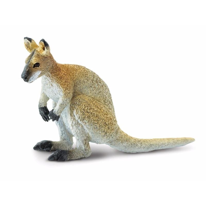 Plastic speelgoed figuur wallaby 9 cm