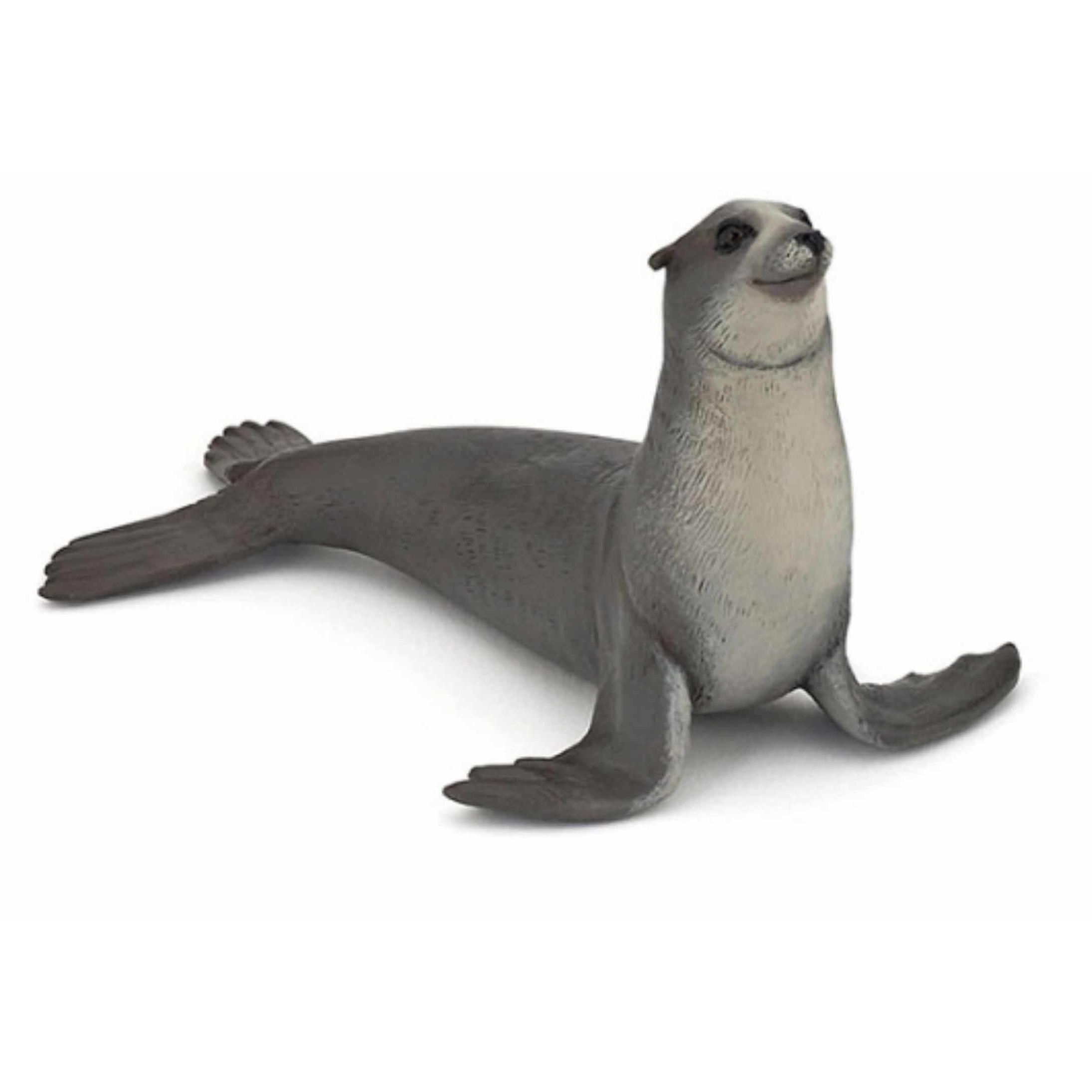 Plastic speelgoed figuur zeeleeuw 12 cm