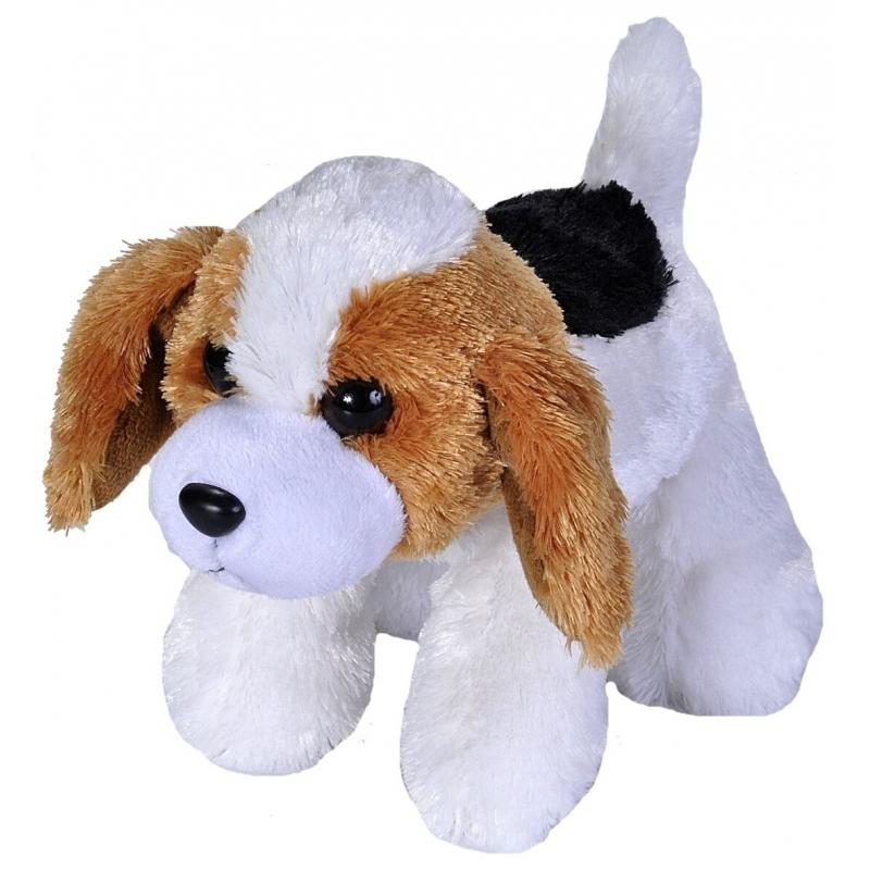 Pluche Beagle hond knuffeltje 18 cm