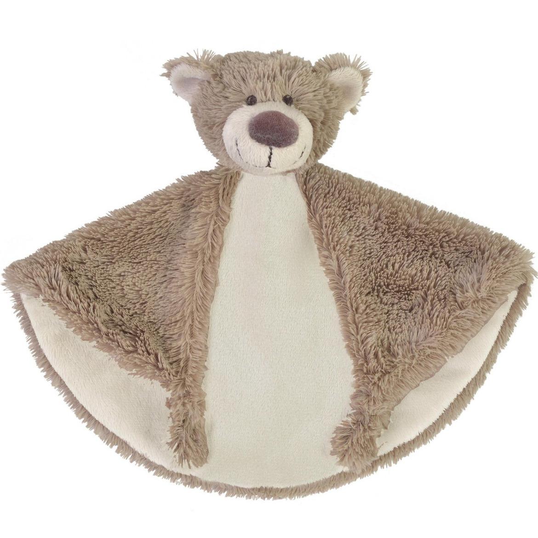 Pluche beer knuffeldoekje Bella 29 cm