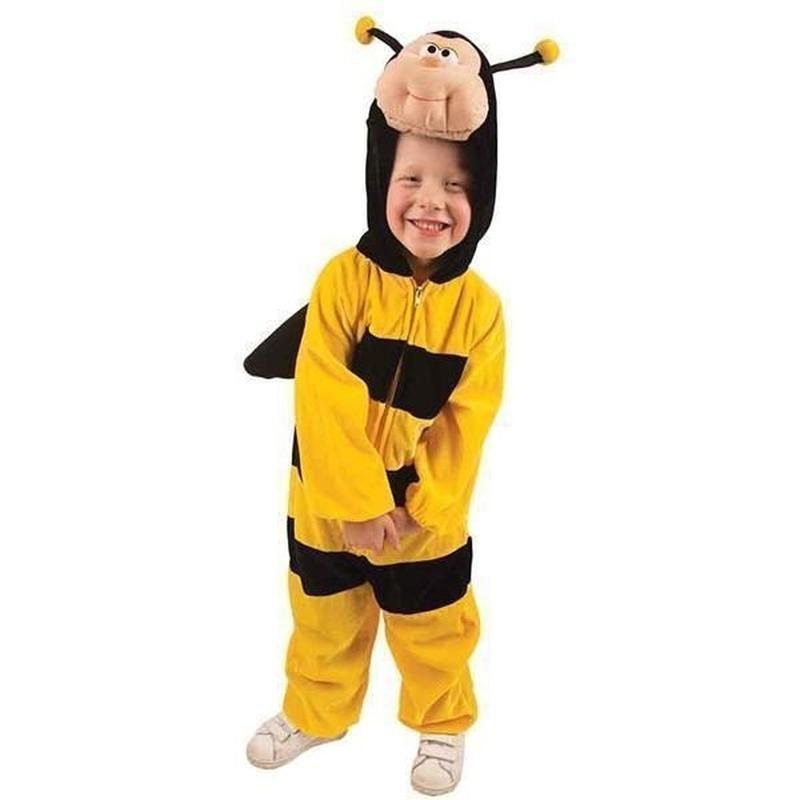 Pluche bijen kostuums kinderen