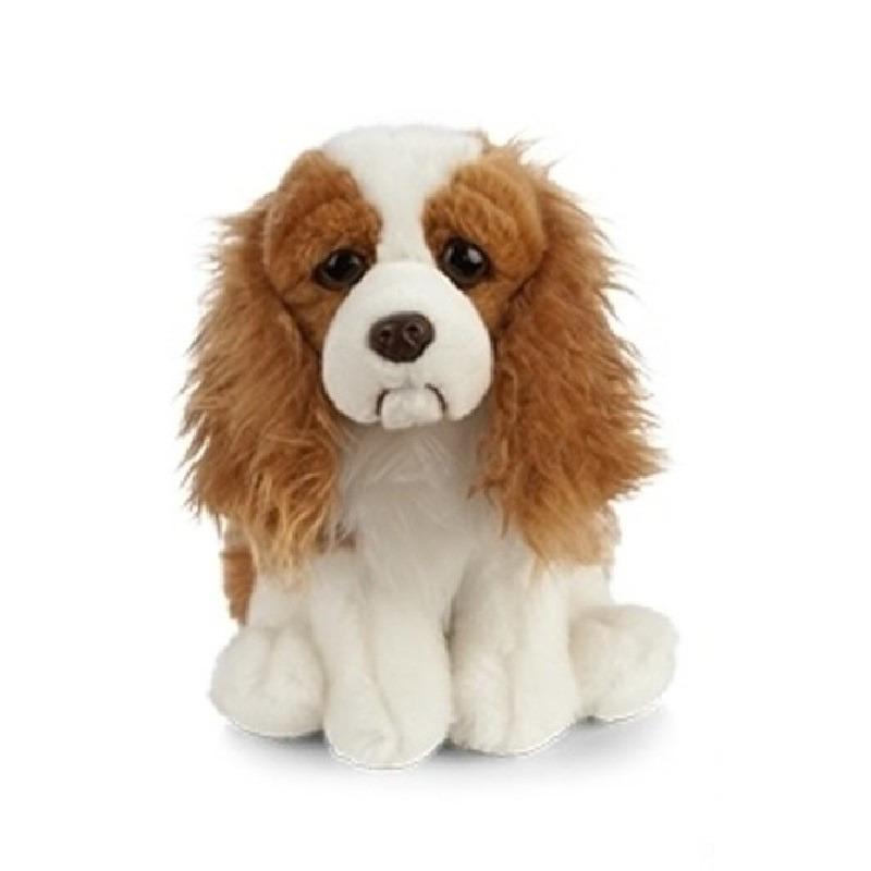 Pluche bruine Spaniel honden knuffel 20 cm speelgoed