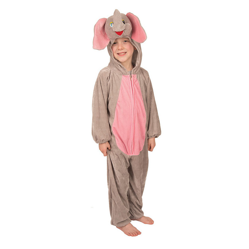 Pluche dieren kostuum olifant