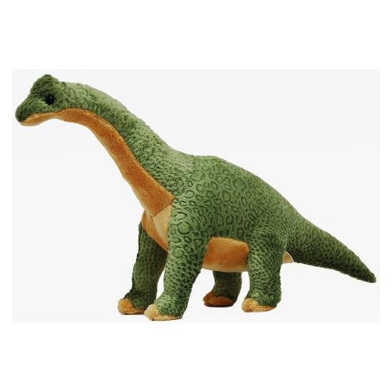 Pluche dinosaurus brachiosaurus groen 43 cm