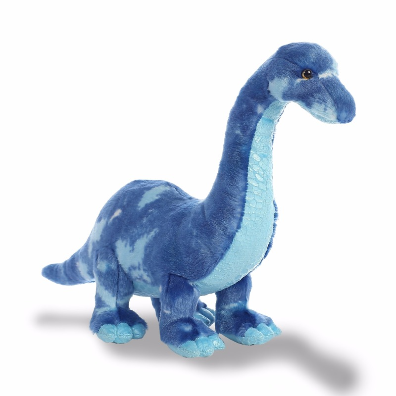 Pluche dinosaurus knuffel Brachiosaurus 39 cm