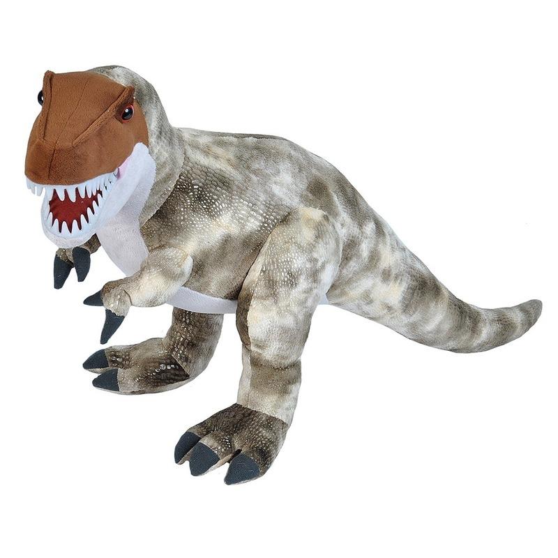 Pluche dinosaurus T-Rex knuffel mega 63 cm