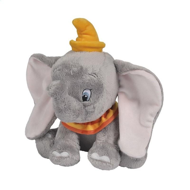 Pluche Disney Dumbo/Dombo olifant knuffel 25 cm speelgoed
