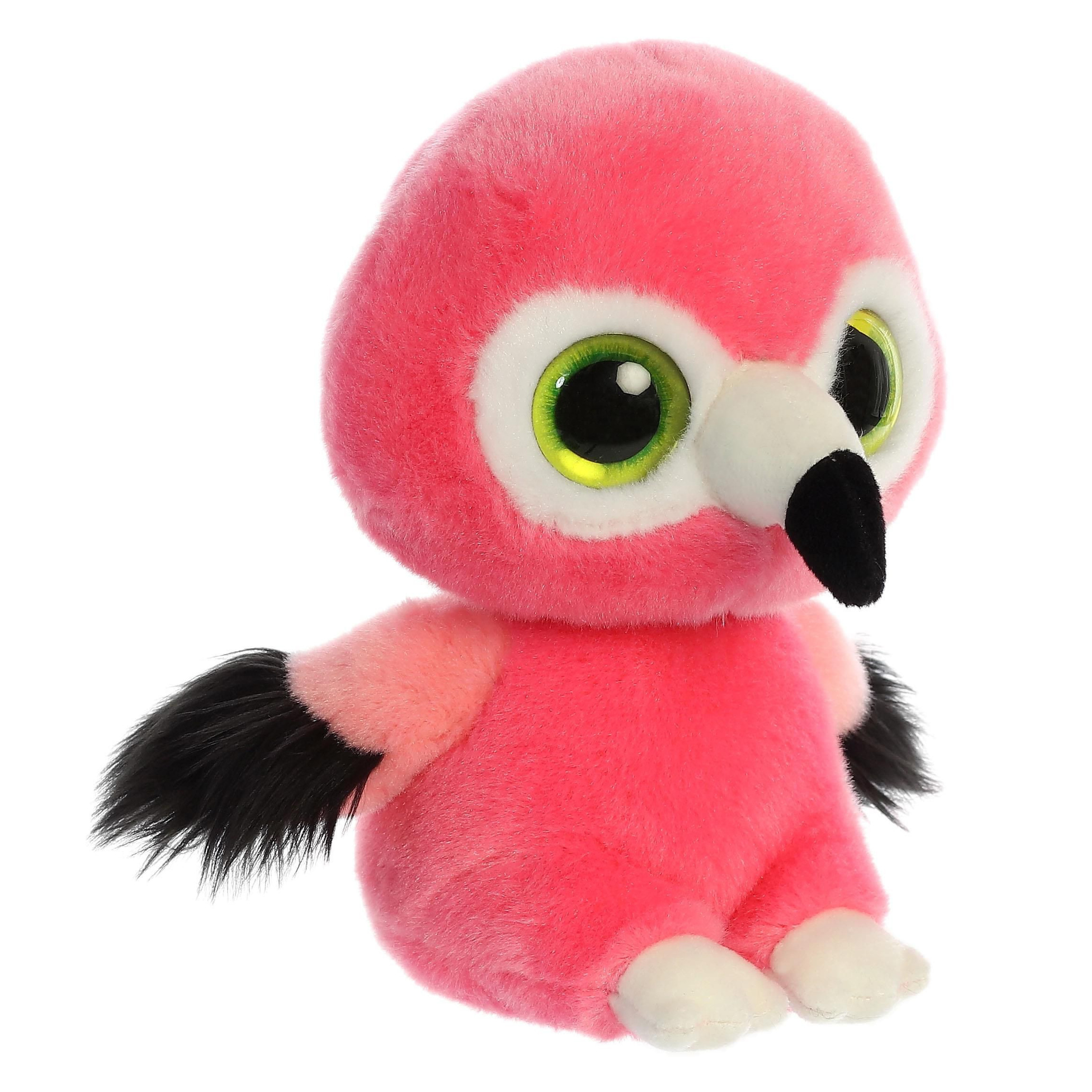 Pluche flamingo knuffel 20 cm