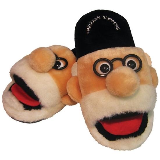 Pluche Freud pantoffels