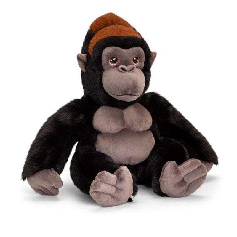 Pluche gorilla aap knuffel van 30 cm