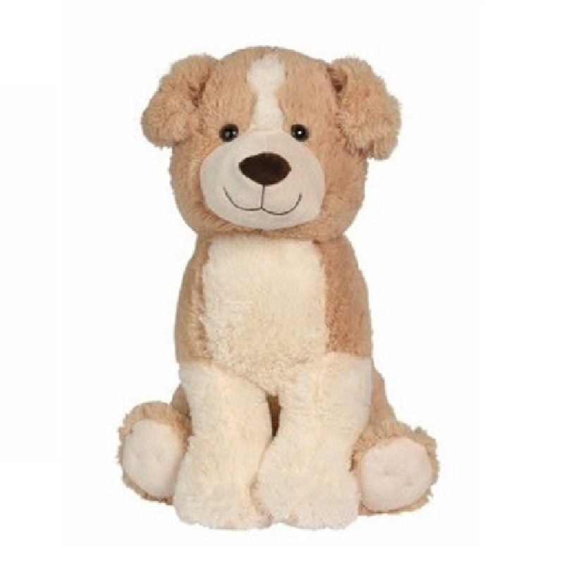 Pluche honden knuffel 50 cm speelgoed