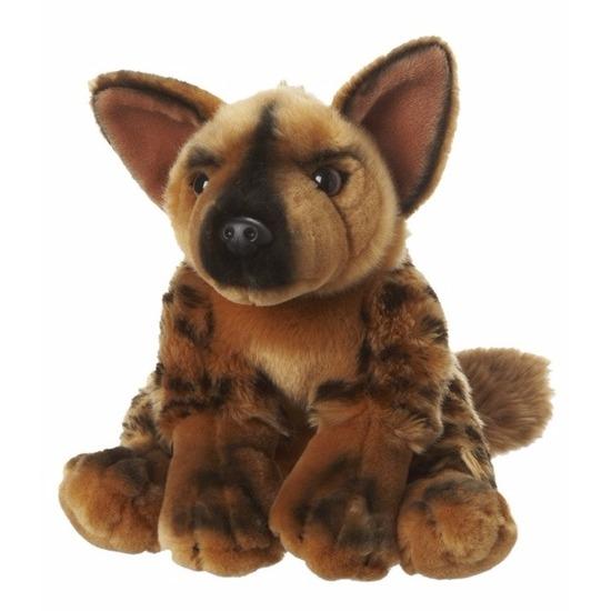 Pluche hyena knuffeldiertjes 18 cm
