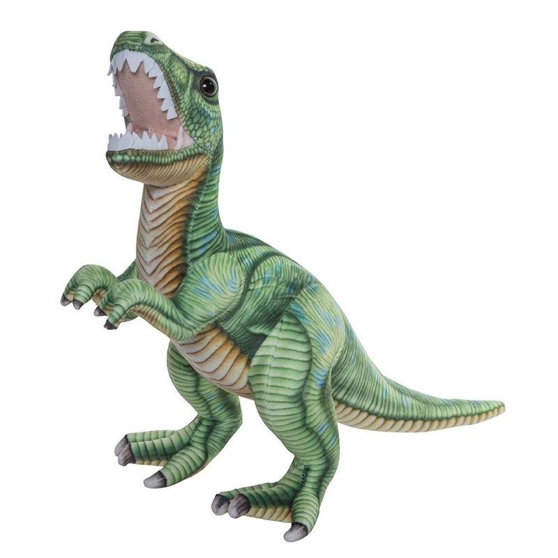 Pluche knuffel dinosaurus T-rex 35 cm