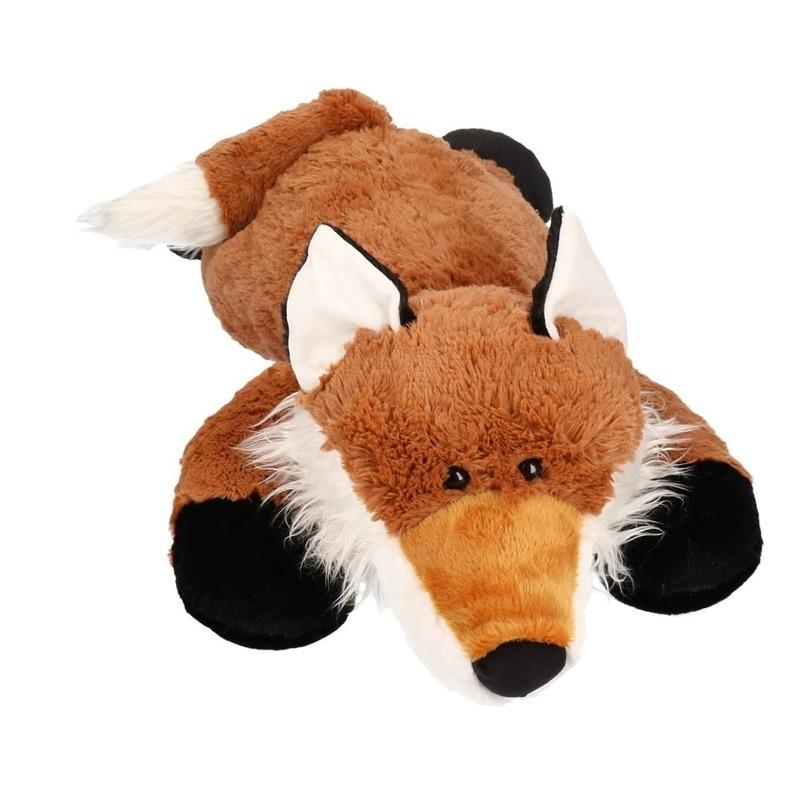 Pluche knuffel grote vos 80 cm