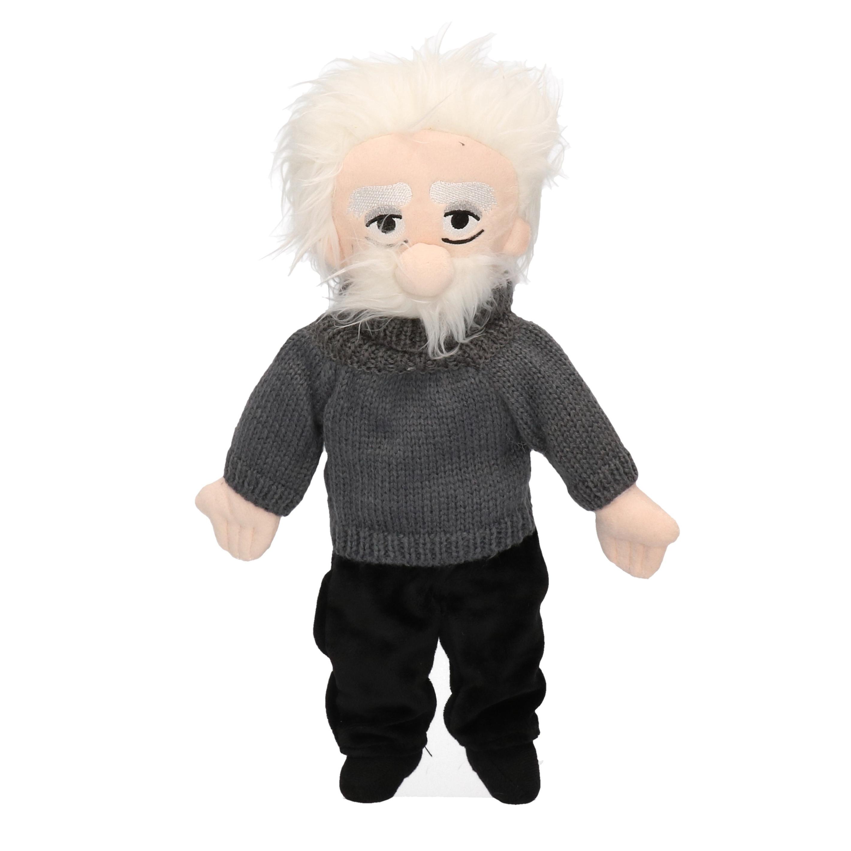 Pluche knuffel pop van Einstein 28 cm