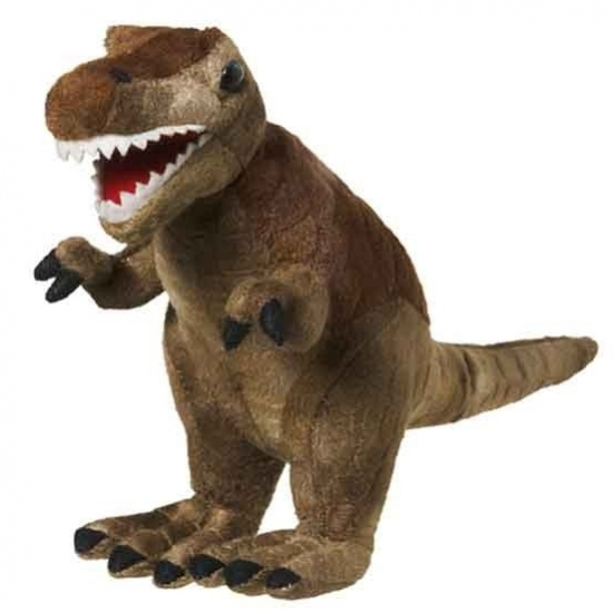 Pluche knuffel Tyrannosaurus 20 cm