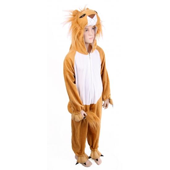 Pluche leeuwenpak voor kinderen