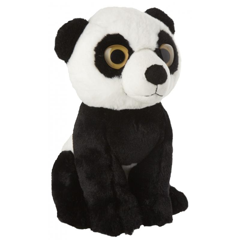 Pluche panda 22 cm