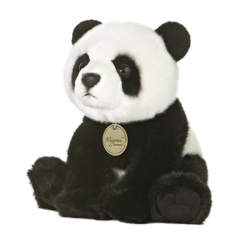 Pluche panda beer knuffel 26 cm
