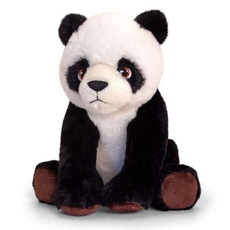 Pluche panda beer knuffel van 25 cm